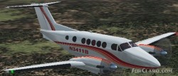 Fs2004 Beechcraft King Air B200 image 1