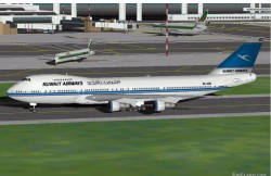 Flightsim FS2004/FS98 Kuwait Airways Boeing image 1