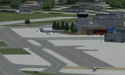 FS2004 Scenery-Allegheny County Airport KAGC image 1