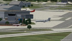 FS2004 Scenery-Allegheny County Airport KAGC image 2