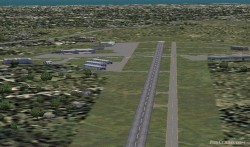 Fs2004 Scenery-monmouth Executive Airport image 1