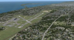 FSX Erie International Tom Ridge Field image 1