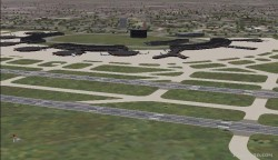 Fs2004 scenery-newark liberty international image 1