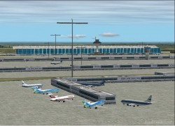 KIAD Redone Washington Dulles Airport FS2002 image 2