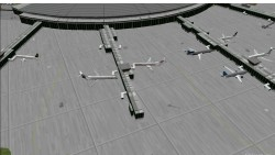 FS2000 La Guardia Static Aircraft 2000 image 1
