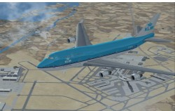 FSX KLM Airlines Boeing 747-400 registration image 1