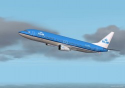Fs2002 Klm Royal Dutch Airlines New Colors image 1