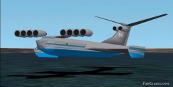 Fs2002 Km Ekranoplan caspian Sea Monster image 1