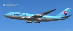 Korean Air Boeing 747-400 FS2004 image 1