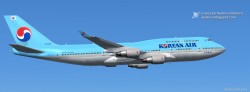Korean Air Boeing 747-400 FS2004 image 2