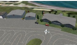 FS2004 Scenery-Peter O Knight Airport serves image 1