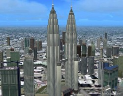 Flight Simulator 2004/FSX Scenery City image 1