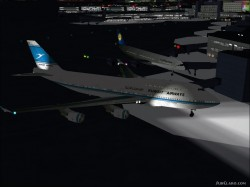 FS2002 Kuwaiti Airlines 747-400 Boeing image 1