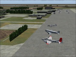 FS2004 Willow Run KYIP Michigan Scenery - image 1