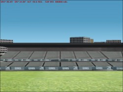 FS2002 Scenery - Landsowne Road Rugby Stadium image 1