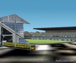 FS2002 Scenery - Landsowne Road Rugby Stadium image 3