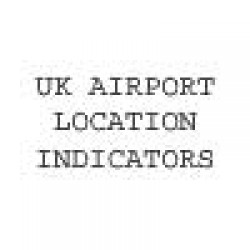 Uk Airport And Airfield Location Indicators image 1