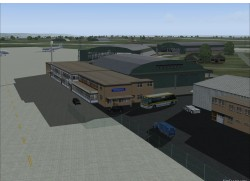 FS2004 Scenery RAF Lyneham include AFCAD and AI image 1
