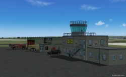 FS2004 Scenery RAF Lyneham include AFCAD and AI image 2