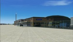 FS2004 Scenery RAF Lyneham include AFCAD and AI image 3
