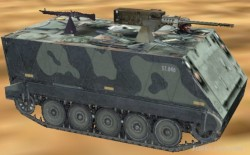 FS2004/FS2002 API macroM113 Armored Personel image 1