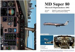 Fs2002 Manual/checklist Md Super 80 image 1
