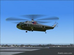Fs2002/fs2004 sikorsky s-61n brunei shell one image 1