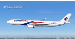 COMPATIBLE MALAYSIA AIRLINES AIRBUS A330-300 image 1