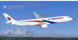 COMPATIBLE MALAYSIA AIRLINES AIRBUS A330-300 image 2