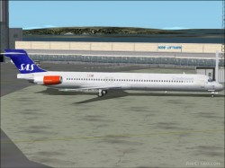 GMax model four MD-81s SAS livery image 1