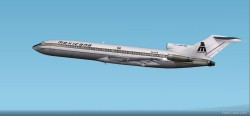 FS2002 Boeing 727-200 Mexicana 1982 Cf image 1
