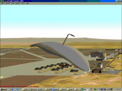 FS2002 Alien Aircraft Martian Flying Machine image 1