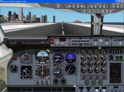 Fs2002 Bae146 Panel Completely New Version image 1