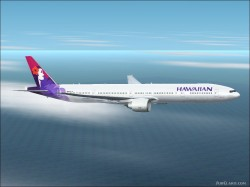 Meljet Boeing 777-300 fictional Hawaiian image 1