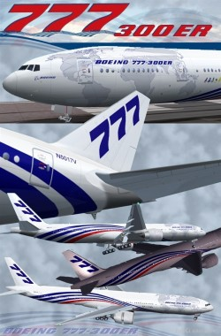 Fs2002 Boeing 777-300 House Livery image 1