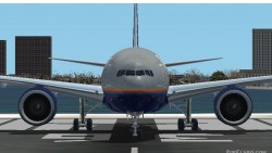 Fs2002 Boeing 777-200 United Airlines World Tour image 1