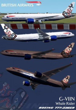 Fs2002 British Airways 777-236er Viin Textures image 1