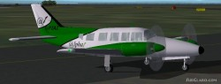 FS2002 British Airlines Piper Navajo Collection image 1