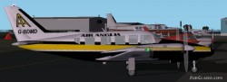 FS2002 British Airlines Piper Navajo Collection image 2