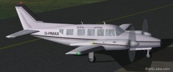 FS2002 British Airlines Piper Navajo Collection image 3