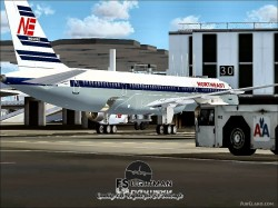 Northeast Airlines B757-200 1958 Livery image 1