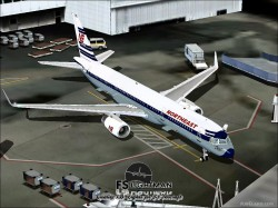 Northeast Airlines B757-200 1958 Livery image 3