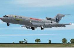 exclusively Fs2002 Boeing 727-200 National image 1