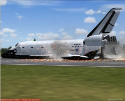 FS2004 Aircraft: Nicks Space Shuttle Landing image 2