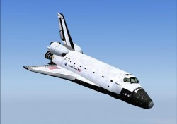 FS2004 Aircraft: Nicks Space Shuttle Landing image 3