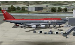 747-400 V4 NorthWest Airlines 90s.Project image 2