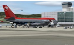 747-400 V4 NorthWest Airlines 90s.Project image 3