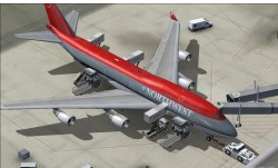 747-400 V4 NorthWest Airlines 90s.Project image 4