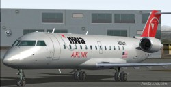 FS2004 NWA Airlink Pinnacle CRJ-200 Features image 2