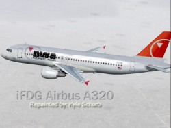 -ifdg airbus a320 northwest airlines new image 1